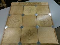 wood ddr dance pad