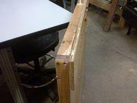 wood ddr dance pad