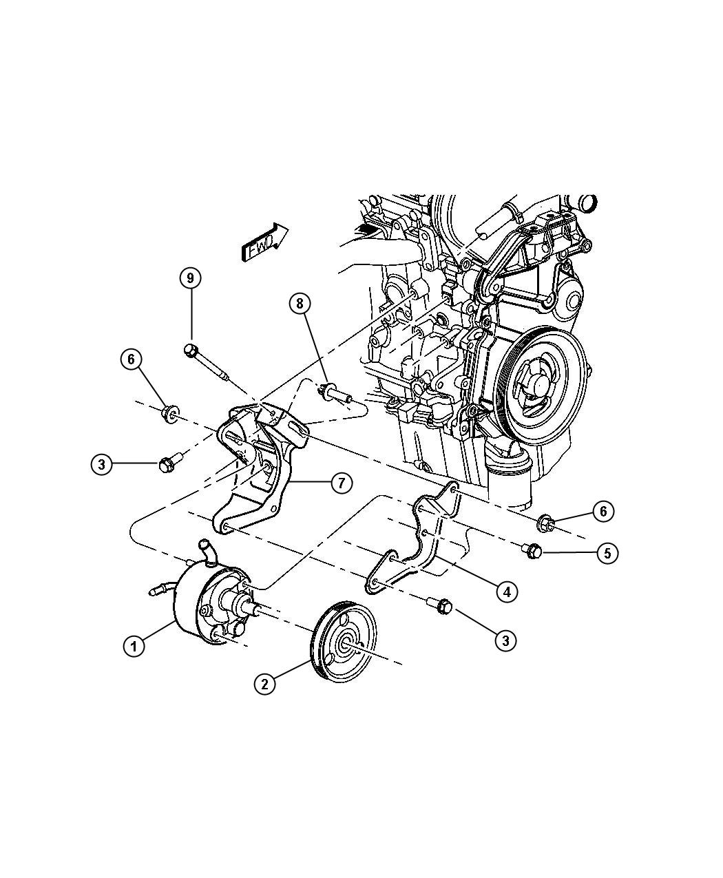 diagram  4runner power steering pump diagram full version